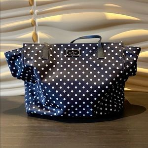 Kate Spade Shoulder Polka Dot Tote